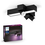 Philips Hue White and Color Ambiance Centris 3L Cross Ceiling Černá 50608/30/P7
