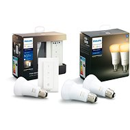 Philips Hue White Ambiance 8.5W E27 set 2ks + Philips Hue Light recipe kit