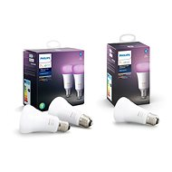 Philips Hue White and Color ambiance 9W E27 set 2ks + Philips Hue White and Color ambiance 9W E27