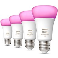 Philips Hue White and Color Ambiance 6.5W 800 E27 4ks