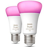 Philips Hue White and Color Ambiance 9W 1100 E27 2ks