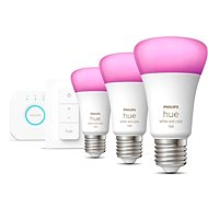 Philips Hue White and Color Ambiance 9W 1100 E27 starter kit
