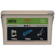 System Leveling Application SET 100/100/1 - 1mm - Tiling Tools