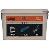 Tile Leveling System Application SET 100/100/1 - 2mm - Tiling Tools