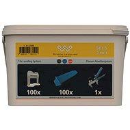 System Leveling Application SET 100/100/1 - 3mm - Tiling Tools