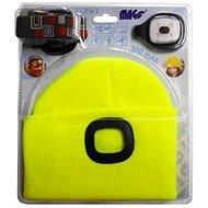 MAGG Čepice s LED světlem - reflexní žlutá - Čepice