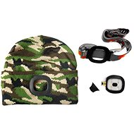 MAGG Cap with LED Light - camouflage/forest - Hat