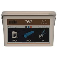 System Leveling - aplikační SET 100/100/1 - 1,5 - Spony