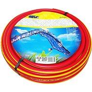 "MAGG Garden Hose Red - Yellow Stripe 3/4"" - 25m"