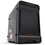 Phanteks Enthoo Evolv ITX Tempered černo-červená - Počítačová skříň