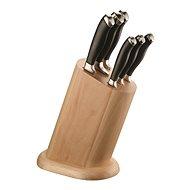 Pintinox Blok na nože se 6 noži W/WOODEN BLOCK - Sada nožů