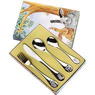 Pintinox Sada příborů pro děti ARCA DI NOE 4ks, Gift box  - Dětský příbor