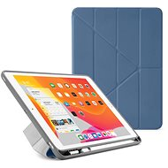 "Pipetto Origami Pencil Case pro Apple iPad 10.2"" (2019) -  modré (Navy) - Pouzdro na tablet"