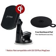 Pitaka MagMount Qi Pro Wireless Suction Cup Mount - Držák na mobilní telefon