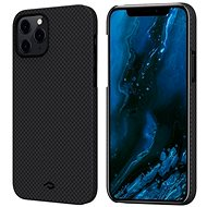 Pitaka MagEZ Black/Grey Plain iPhone 12 Pro - Kryt na mobil