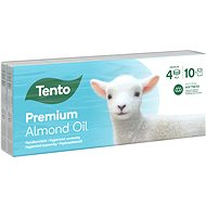 TENTO Natural Oils Almond 10 × 10pcs - Tissues