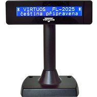 Virtuos LCD FL-2025MB 2x20 černý - Zákaznický displej