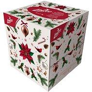 LINTEO Vánoční s balzámem (80 ks) - Papírové kapesníky