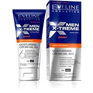EVELINE Cosmetics Men X-treme moisturizing cream-gel 6in1 anti-fatique 50 ml - Pánský pleťový krém