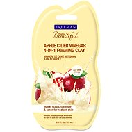 FREEMAN pleťová jílová čistící pěna 4v1 jabl.ocet 15 ml - Čisticí pěna