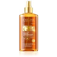 EVELINE COSMETICS Summer Gold Self Tanning Face&Body Dark Skin 150 ml - Samoopalovací olej