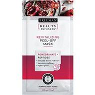 FREEMAN Beauty Infusion Revitalizační slupovací maska granátové jablko + peptidy 15 ml - Pleťová maska