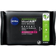 NIVEA MicellAIR Expert Remover Wipes 20 ks - Odličovací ubrousky