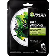 GARNIER Pure Charcoal Purifying & Hydrating Pore-Tightening Black Tissue Mask 28 g - Pleťová maska