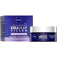 NIVEA Hyaluron Cellular Filler Volume Contour Night Cream 50 ml - Pleťový krém