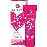 DERMACOL Love My Face Moisturizing Care Raspers & Forst Berries Scent 50 ml
