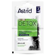 ASTRID Citylife Detox 2× 8 ml - Pleťová maska