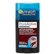 GARNIER PureActive Charcoal Anti-Blackhead Exfoliating Stick 50 ml - Pleťová maska