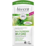 LAVERA Purifying Cleansing Mask Organic Mint 2× 5ml - Face Mask