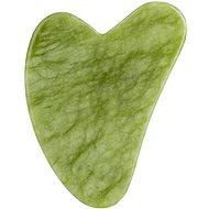 PALSAR7 Masážní destička Guasha - zelený xiuyan jadeit - Roller