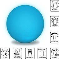Colour changing Sphere 50cm - Taburet
