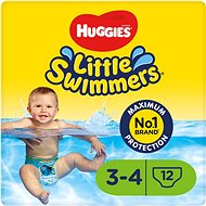 HUGGIES Little Swimmers vel. 3/4 (12 ks) - Plenkové plavky