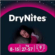 HUGGIES Dry Nites Large - Girls (9 pieces) - Baby Nappies