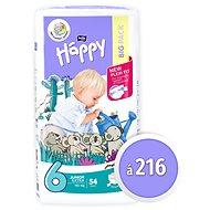 BELLA Baby Happy Junior Extra vel. 6 (216 ks) - Dětské pleny