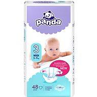 PANDA Midi vel. 3 (48 ks) - Dětské pleny