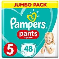 PAMPERS Pants vel. 5 Junior (48ks) - Jumbo Pack - Dětské plenkové kalhotky