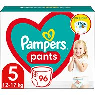 PAMPERS Pants Junior vel. 5 (96 ks) - Mega Box - Plenkové kalhotky