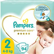 PAMPERS Premium Care Mini vel. 2 (94 ks) - Dětské pleny