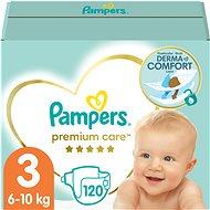 Pampers Premium Care MB vel. 3 Midi (120 ks) - měsíční zásoba - Dětské pleny