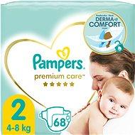 PAMPERS Premium Care Mini vel. 2 (80 ks) - Dětské pleny