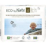NATY Maxi size 4 (22 pcs) - Eco Diaper Pants