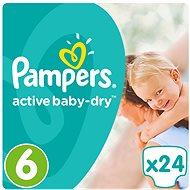 PAMPERS Active Baby-Dry Extra Large vel. 6 (24 ks) - Dětské pleny
