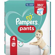 PAMPERS Pants Carry Pack Maxi vel. 4 (24 ks) - Plenkové kalhotky