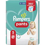 PAMPERS Pants Carry Pack Junior vel. 5 (22 ks) - Plenkové kalhotky