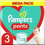 PAMPERS Pants vel. 3 Midi (6-11 kg) 120 ks - megapack - Plenkové kalhotky
