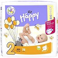 BELLA Baby Happy Mini vel. 2 (78 ks) - Dětské pleny